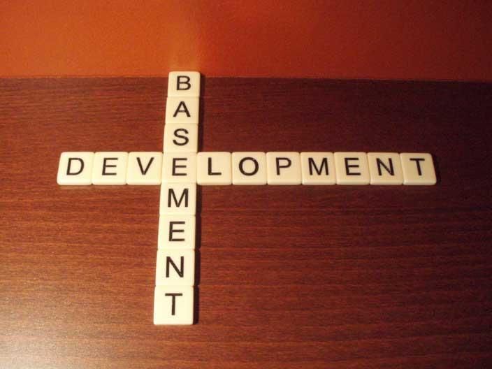 What does basement development mean?