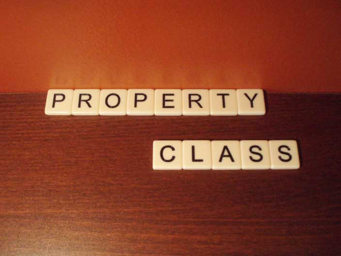 What does property class mean?