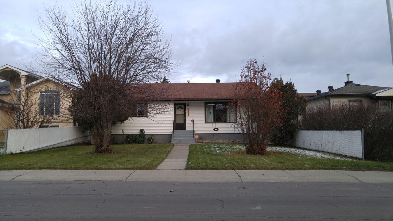 single family house RF1 lot Edmonton