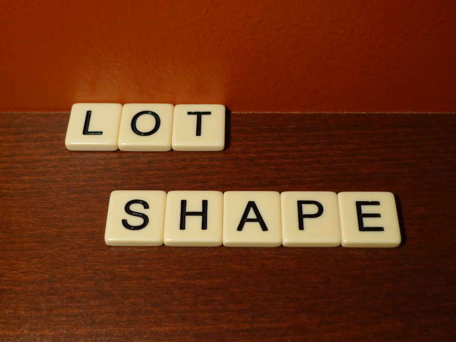 What Does Lot Shape Mean Real Estate Definition