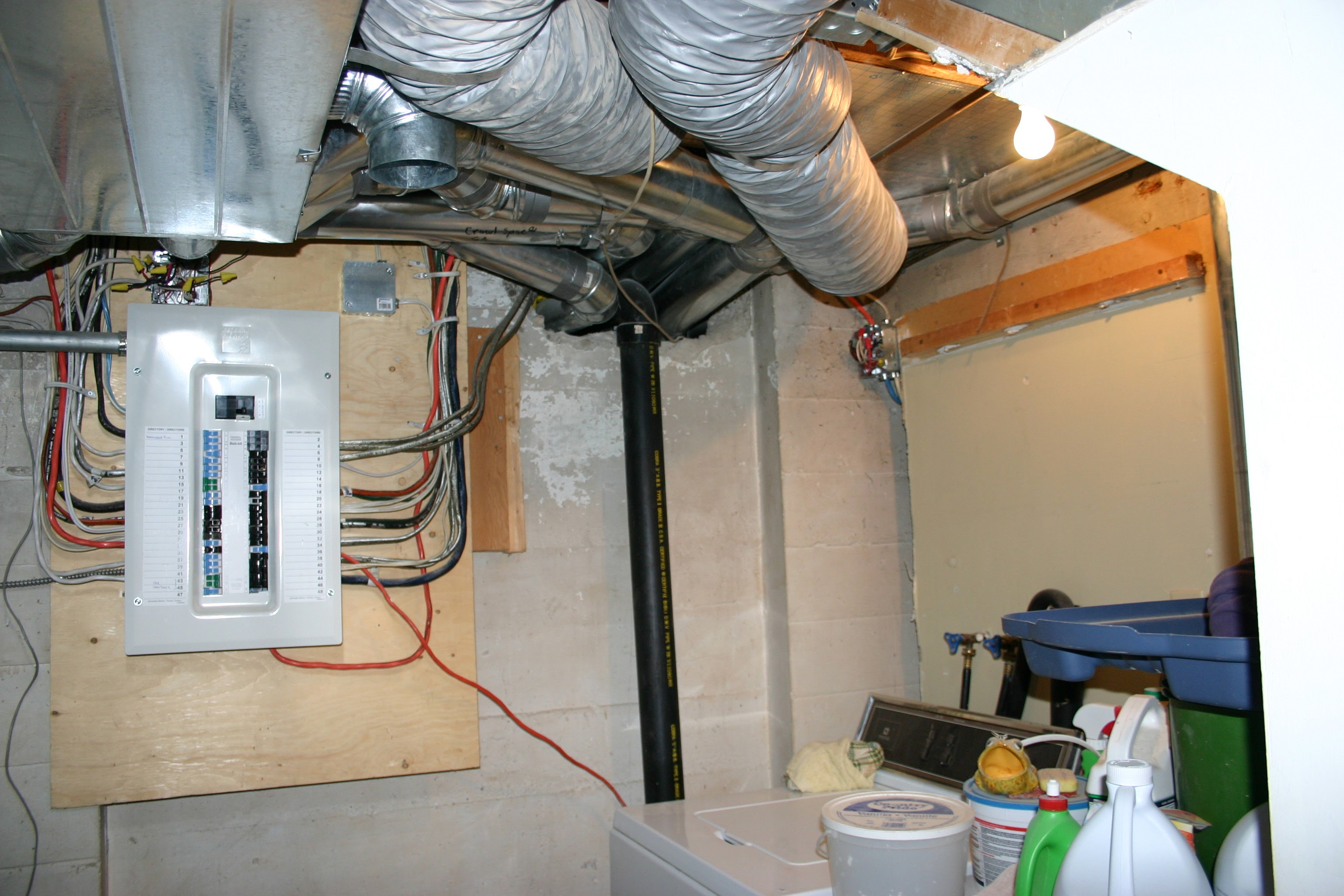Why You Should Upgrade From 60 Amp To 100 Service Article Electrician House Wiring A Brand New Electrical Panel With
