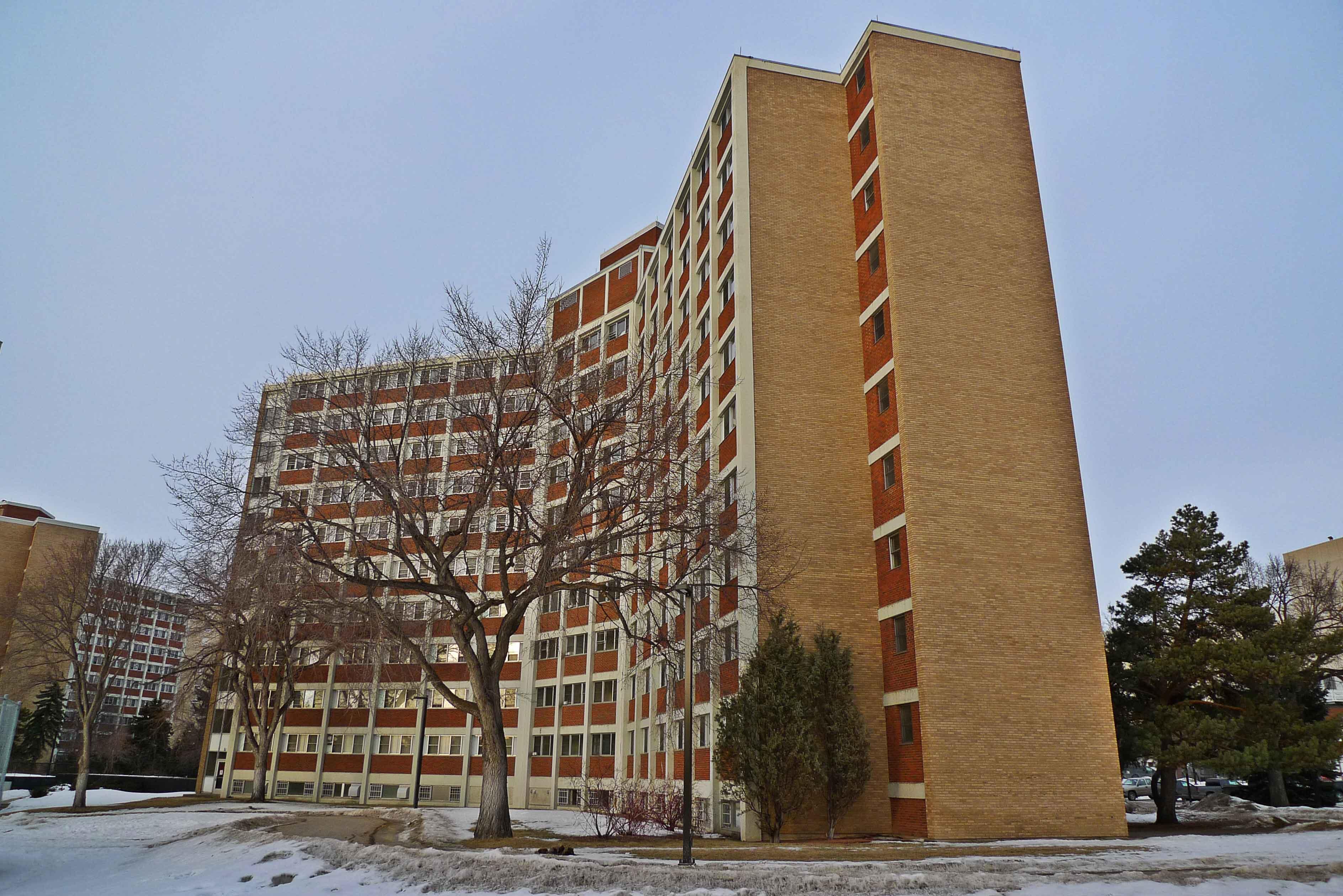 UofA, U of A Lister Hall in Edmonton