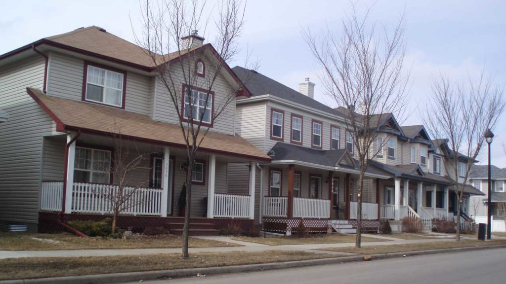 Houses-in-South-Terwillegar, Edmoton