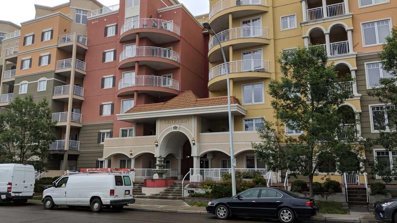 The Venetian Condominium Oliver Edmonton
