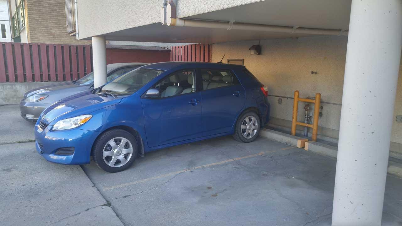 Assigned Parking Stall in Oliver Edmonton