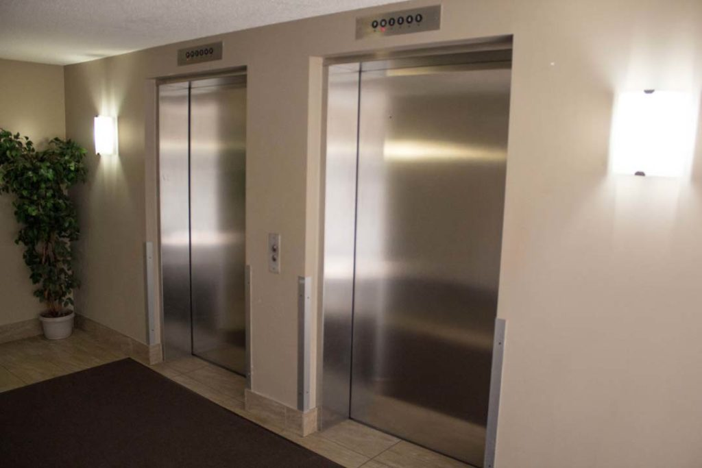 Elevators are also common property in a condominium