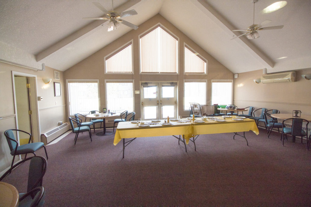 Social Room, Wolf Willow Manor, South Callingwood, Edmonton